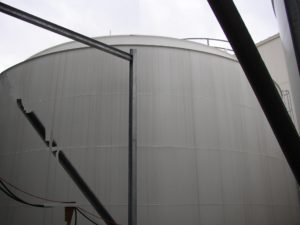 Kynar-Lined Tank
