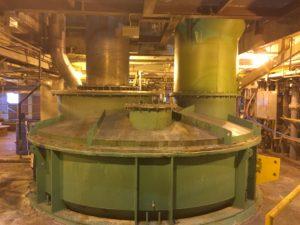 Evaporator Tank to Process Sulfuric Acid Waste